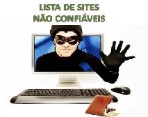 Sites não confiáveis